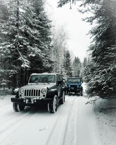 Took advantage of the fresh snow by Duluth yesterday with my brother #jeep #jeeplife #Wrangler #jeeps #Cherokee #JeepMafia #offroad #4x4