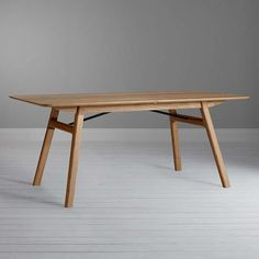 Design Project by John Lewis Seater Extending Dining Table. A good strong table, simply shaped and carefully engineered in solid oak wood to stand the test of time. Rrp in John Lewis at so your saving a HUGE Dining Table Online, Extendable Dining Table, Dining Table Chairs, Dining Furniture, Home Furniture, Dining Room, Dining Sets, Solid Oak, John Lewis
