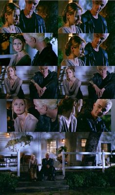 Buffy: I don't know. I just feel like, like I'm spending all my time trying to be okay, so no one'll worry. It's exhausting, and then I get all ...   Spike: ... and that makes 'em worry even more.   Spike: Want me to take 'em out? Give me a hell of a headache, but I could probably thin the herd a little.   Spike: Knew I could get a grin.     (BtVS S06E04 Flooded)