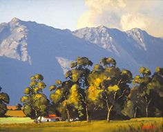 African Artists, Landscape Paintings, Landscapes, South Africa, Holland, Amsterdam, Ted, Art Ideas, Scenery