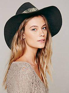 Free People Mink Felt Hat, $148.00