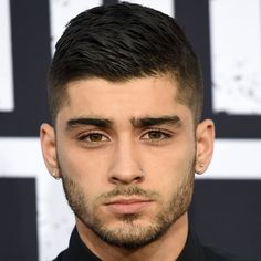 Zayn Malik Short Haircut - High Fade with Comb Over