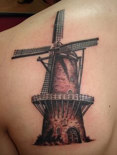 Dutch Windmill by NelsonMandingo.deviantart.com on @deviantART