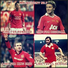 #ManchesterUnited - Magnificent 7