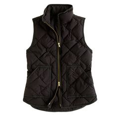 This is just the vest I've been looking for: Excursion quilted vest | J. Crew $110