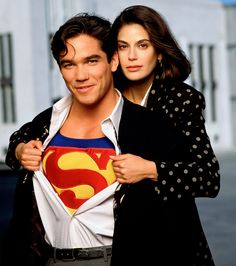 A Lois and Clark Reunion! Teri Hatcher and Dean Cain Stage 'Soaring' Selfie 20 Years After Series Finale