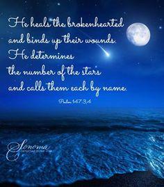 .........He Heals!