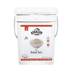 Augason Farms Quick Rolled Oats Pail 10 lb *** Click image to review more details.