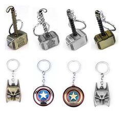 Marvel DC Heroes Keychain Collection //Price: $2.99 & FREE Shipping //     #BatmanFansClub