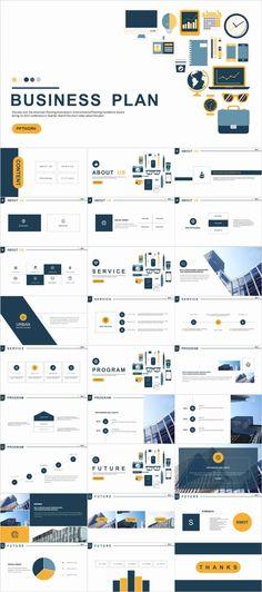 Business plan coins design PowerPoint template - Pcslide.com Icon Design, Café Design, Design Studio, Business Plan Presentation, Presentation Slides Design, Presentation Layout, Powerpoint Slide Designs, Powerpoint Design Templates, Modern Powerpoint Design