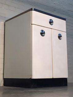 189 Vintage Sears Homart Metal Base Cabinet By Modernmidcenturyfurn