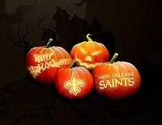 Saints Halloween Punkins