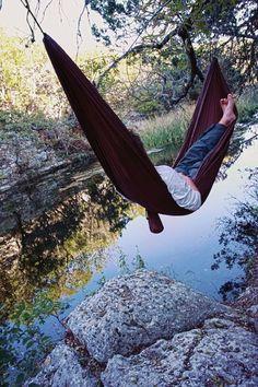 I really want to sleep in a hammock.