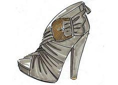 In Sketches: Spring 2011 Shoe Designs
