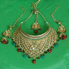 Unique Bridal Necklace Set