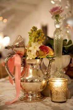 Vintage Wedding Decor Tips Confetti Daydreams