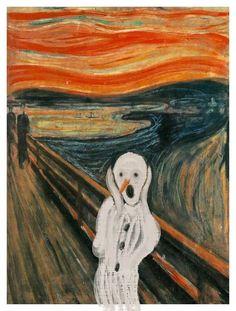 Munch's snowman