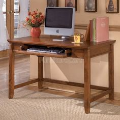 Cross Island Small Home Office Desk Ashley