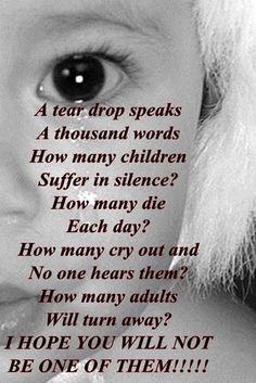 Child abuse...