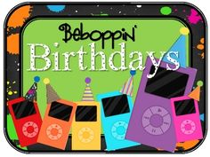 A Beboppin' Birthday Kit CollectionCelebrate your student's birthdays in rocking style! This kit includes: Beboppin Birthday Display Sign...