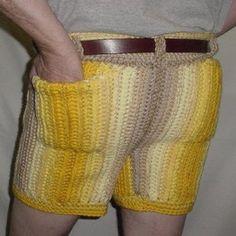 Something I won't be knitting for DH.