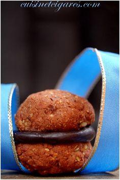 Biscuits Noisettes Ganache Choco