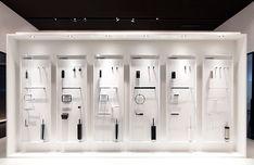 Showroom Interior Design, Tile Showroom, Lighting Showroom, Display Design, Booth Design, Wall Design, Office Ceiling Design, Bathroom Shop, Bathroom Showrooms
