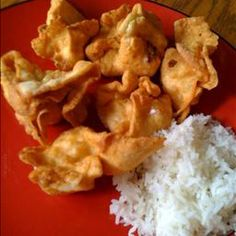 Crab Cheese Wontons on BigOven: Delicious Chinese wontons made from scratch