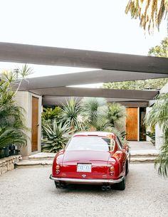 La collection de voitures vintage de Mark Haddawy compte dans ses rangs cette Ferrari 250 GT SWB  Berlinetta de 1961 en aluminium, produite à 80 exemplaires à travers le monde.