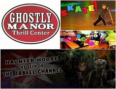 One lucky winner will a Family 4 Pack Tickets to Ghostly Manor.Giveaway ends July 18th at 11:59pm, open US, ages 18+.