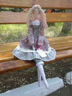 Куклы Тильды ручной работы. Ярмарка Мастеров - ручная работа Текстильная кукла Бланш (Светловалосая). Handmade.