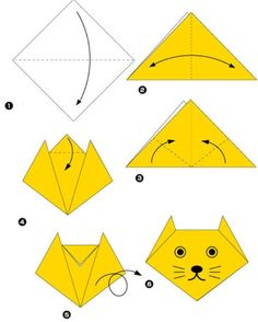 Simple origami for kids and their parents. Selection of funny and cute figures — DIY is FUN