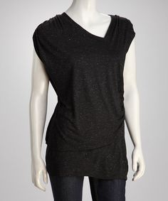 Take a look at this Black Tunic by Kische on #zulily today!