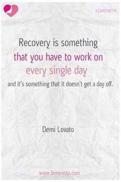 SO freaking true. It's been almost 7 years in recovery for me - would have been 10 years but I relapsed. Even now I still struggle with the urge sometimes. Quotes Dream, Me Quotes, Qoutes, Robert Kiyosaki, Napoleon Hill, Tony Robbins, Anorexia Recovery, Acl Recovery, Celebrate Recovery