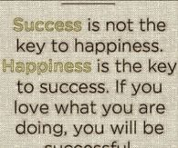happiness is the key to access