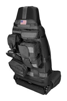 Front Cargo Seat Cover, Black, 76-12 Jeep CJ  Wrangler - $109.99