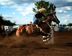Barrel Racing by Al Braunworth on 500px