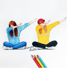 Dab with your friends