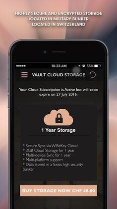 Bulgari Vault App