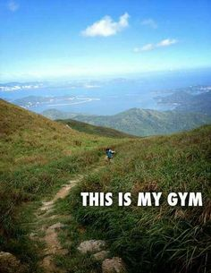 .That's where we like to exercise too #getfitandhealthy