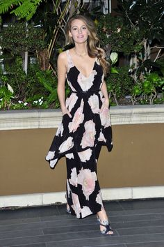 Blake Lively - Promoting 'The Age of Adaline' in LA 05/07/2015