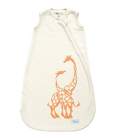 Loving this Natural Giraffe Sleeping Sack - Infant on #zulily! #zulilyfinds