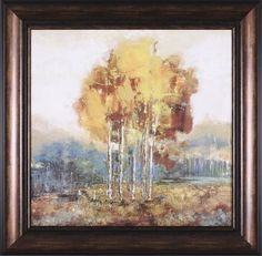 Weathered Scape I Art Framed Painting Print