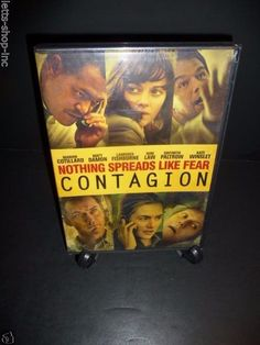 Contagion (DVD, 2012) Matt Damon, Jude Law, Gwyneth Paltrow  New Sealed