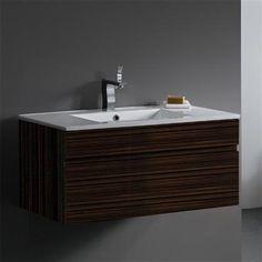 Vigo Industries Vigo 35 in. Single Bathroom Vanity w Sliding Drawer | ShopLadder
