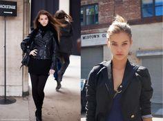 Model Street Style : Barbra Palvin