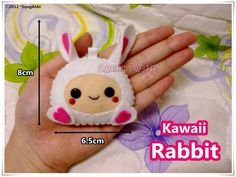 Kawaii Rabbit... by SongAhIn.deviantart.com on @DeviantArt