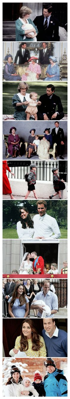 The firstborn son of TRH The Prince & Princess of Wales was born on June 21, 1982 at 9:08pm at the Lindo Wing of St. Mary's Hospita, weighing 7 pounds 1.5 ounces. His Royal Highness is second-in-line to the throne and on June 28th, it was announced that the new Prince would be called HRH Prince William Arthur Philip Louis. The Prince was baptised in the Music Room of Buckingham Palace on August 4, 1982 by the Archbishop of Canterbury, Robert Runcie.  Happy 34th Birthday, HRH Prince William…