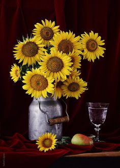 Sunflowers have a deep sentimental meaning for me