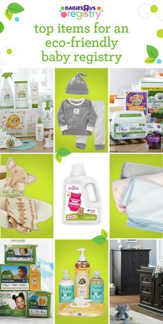 Looking for organic and natural options for your little one? Check out our earth-friendly recommendations for everything from diapers and detergent to blankets and baby food. Our selection of top-brand green products are great for baby and good for the planet, too!